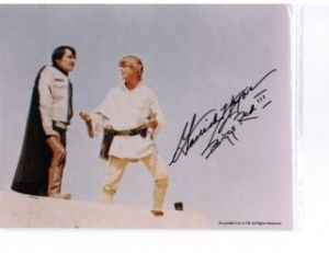 Garrick Hagon from Star Wars Signed 10 x 8 Photograph
